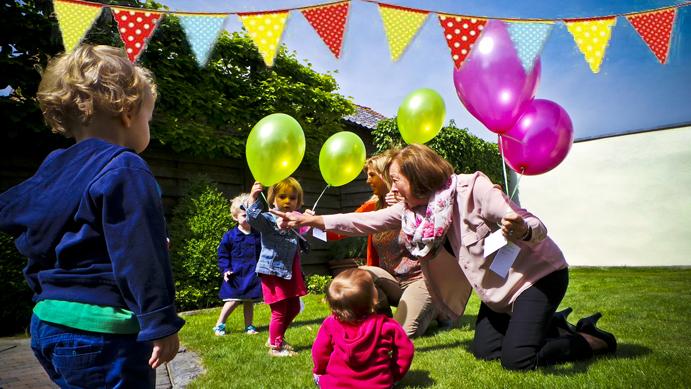 Landelijke Kinderopvang laat 750 ballonnen op!