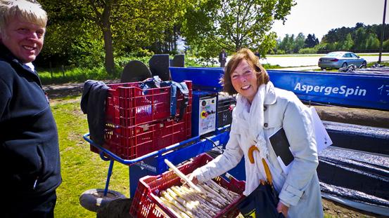 Start aspergeseizoen Vlaams-Brabant